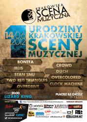 Urodziny 2012 plakat