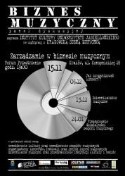 plakat Biznes Muzyczny