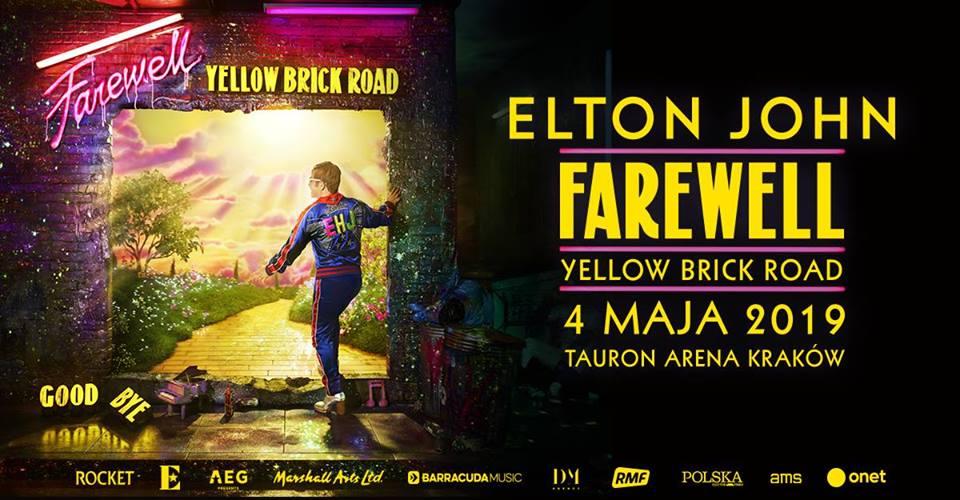 Elton John – Farewell Yellow Brick Road
