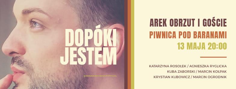 """Arek Obrzut i Goście – """"Dopóki jestem"""""""