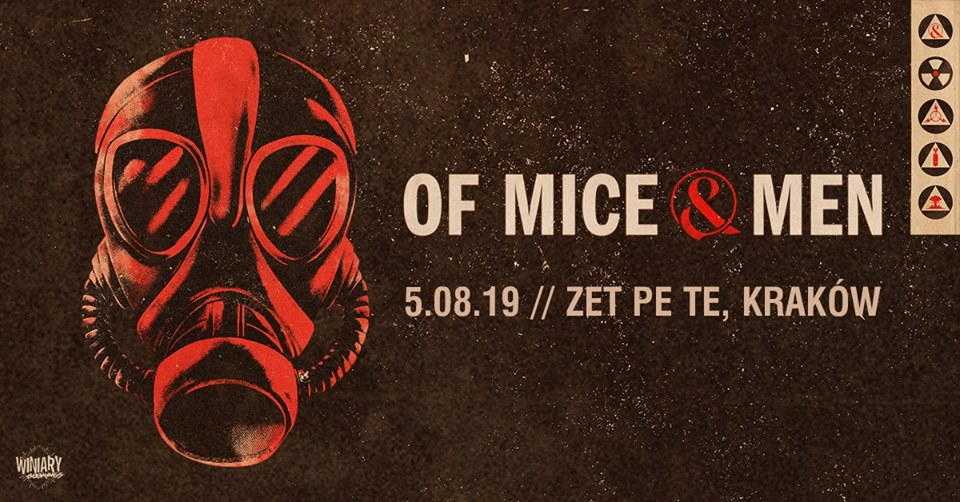 Of Mice & Men + supports