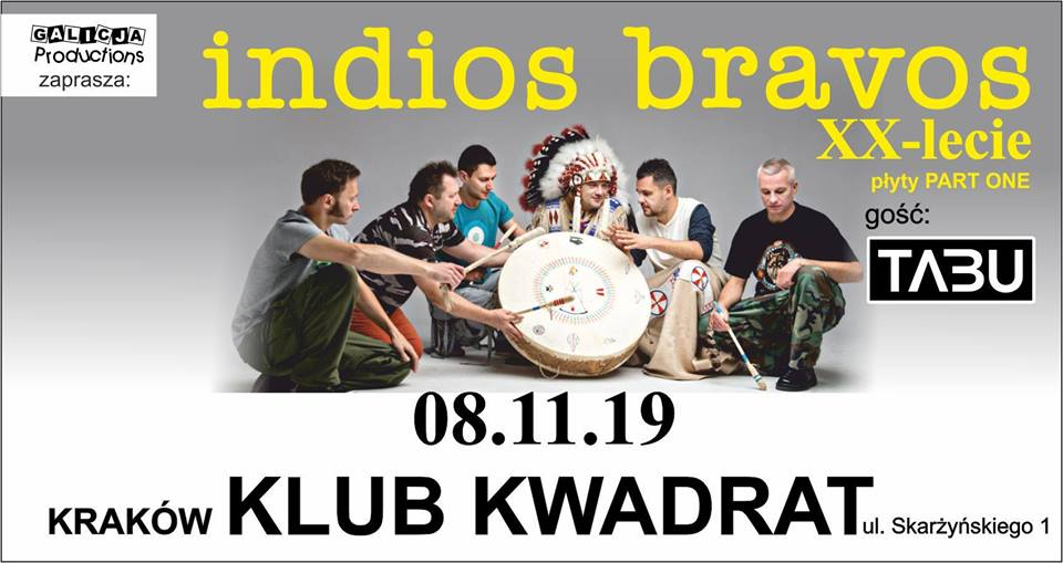 Indios Bravos, TABU