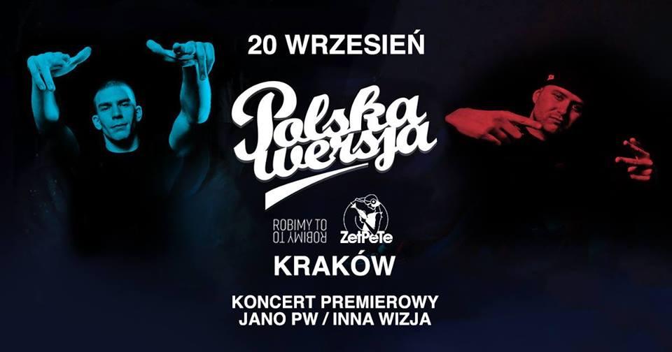 Polska Wersja w Krakowie! / Koncert premierowy JANO PW
