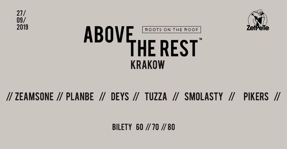 Above The Rest x KRK RAP FEST x Zet Pe Te