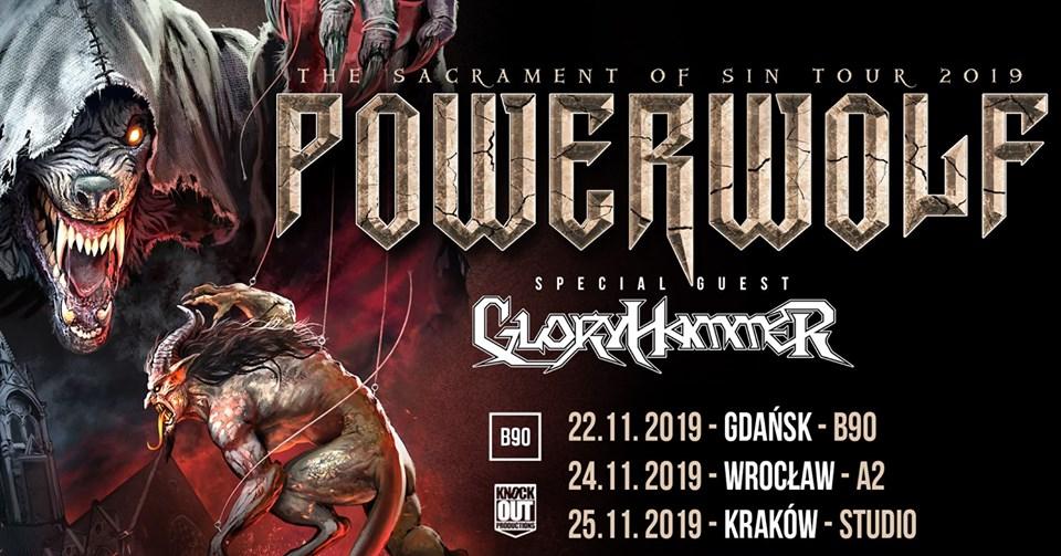Powerwolf, Gloryhammer