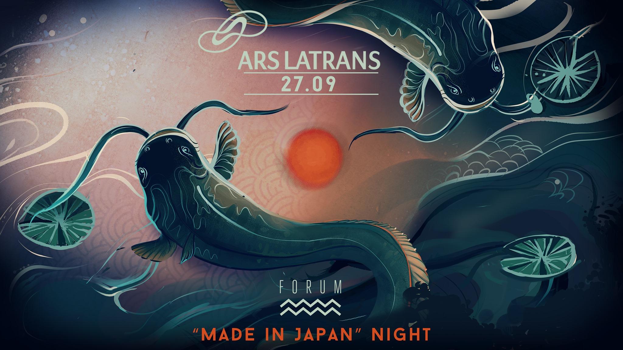 ARS LATRANS Festival: Made in Japan / Afterdark