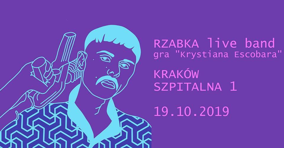 """Rzabka live band gra """"Krystiana Escobara"""""""