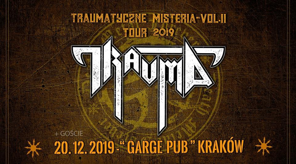 Traumatyczne misteria vol II tour 2019