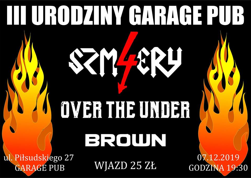 4 SZMERY / OVER THE UNDER / BROWN