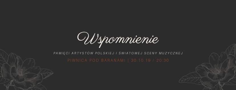 "Koncert ""Wspomnienie"""