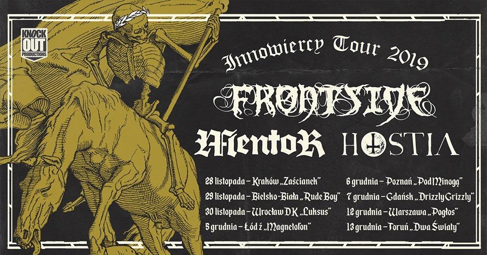 Frontside, Mentor, Hostia