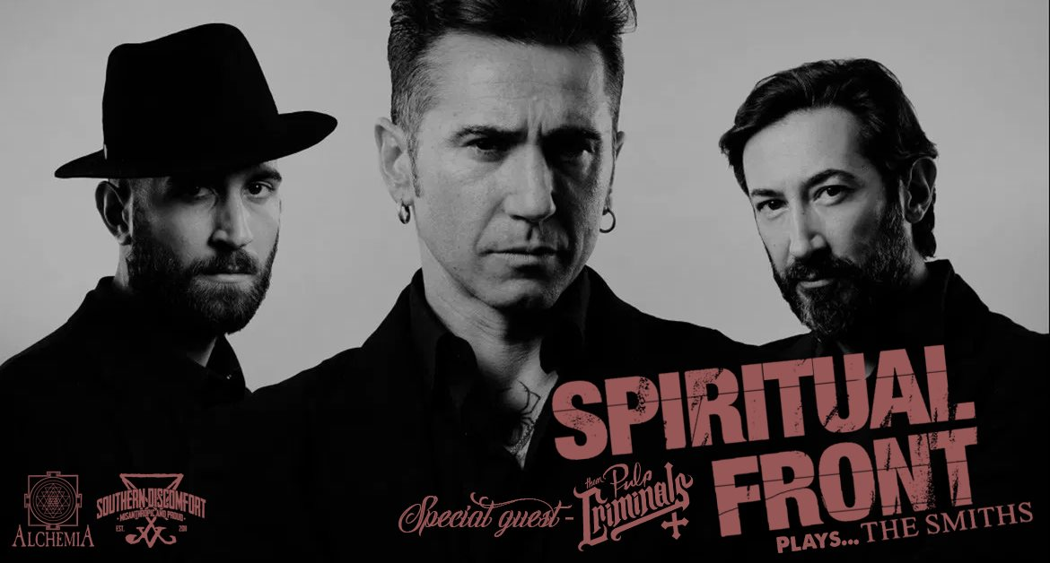 Spiritual Front plays The Smiths + guest: Them Pulp Criminals