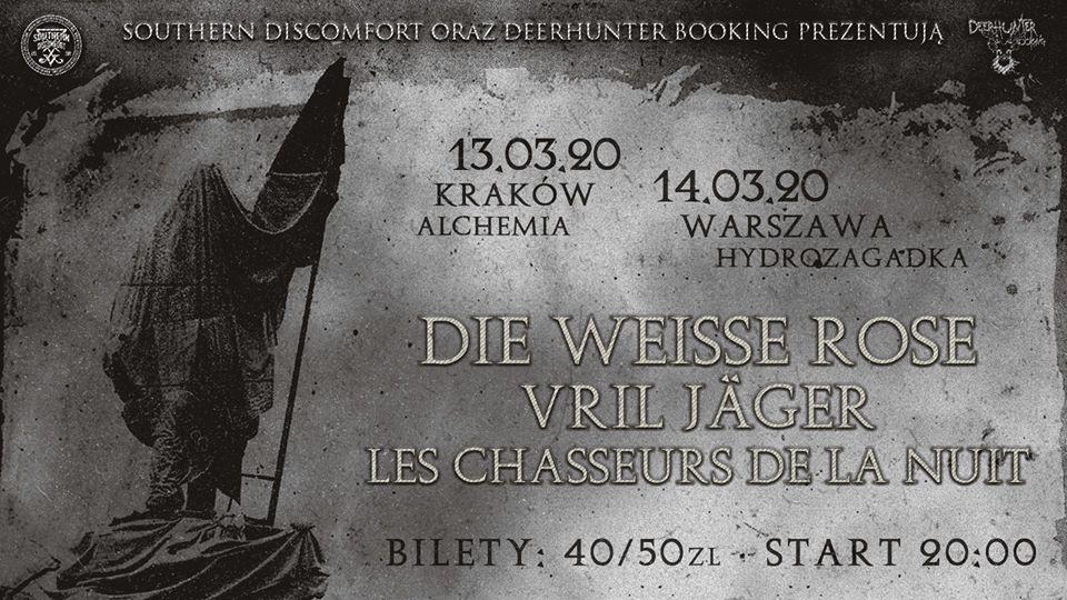 Die Weisse Rose / Les Chasseurs De La Nuit / Vril Jäger