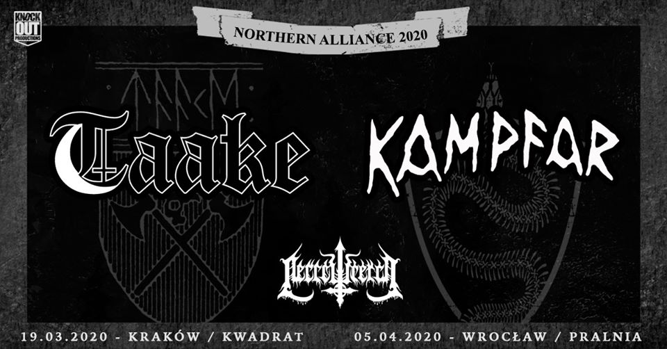 Taake, Kampfar + Necrowretch