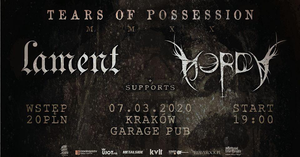Tears Of Possession MMXX Kraków