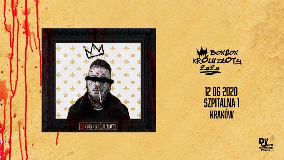 """Bonson """"Królu Złoty"""" – koncert premierowy"""